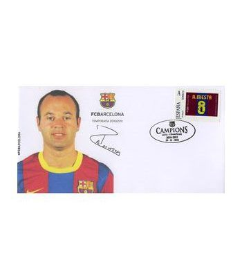 Colección Filatélica Oficial F.C. Barcelona. Pack nº19.  - 6