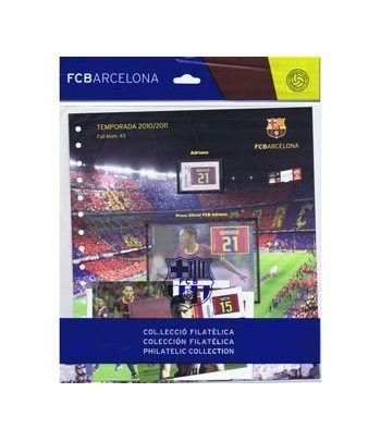 Colección Filatélica Oficial F.C. Barcelona. Pack nº19.  - 10