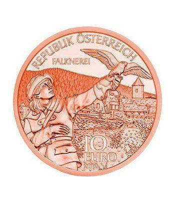 moneda Austria 10 Euros 2012 (Estado de Carintia). Cobre.  - 1