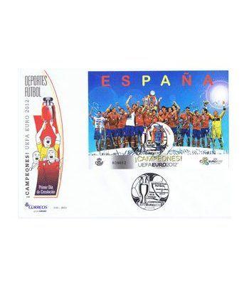 Sobres Primer Día España año completo 2012  - 2