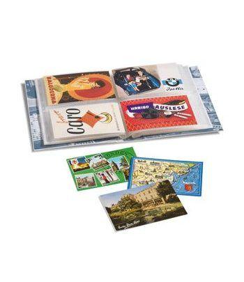LEUCHTTURM Album para postales, 2 divisiones para 200 postales. Album postales - 1