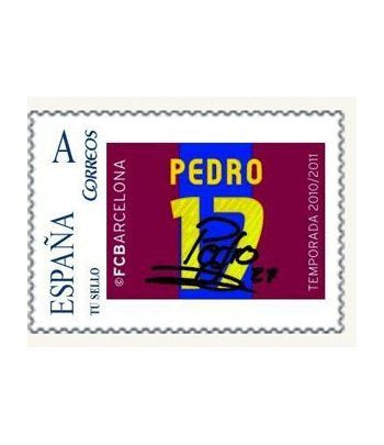 Colección Filatélica Oficial F.C. Barcelona. Pack nº21.  - 4