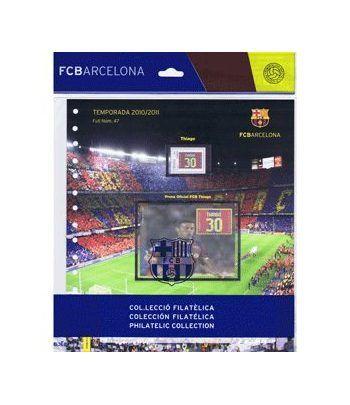 Colección Filatélica Oficial F.C. Barcelona. Pack nº21.  - 10