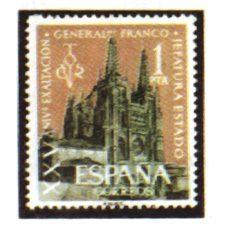 Sellos de España Año 1961