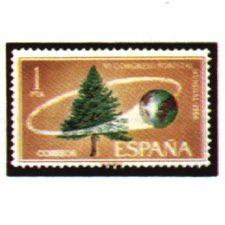 Sellos de España Año 1966
