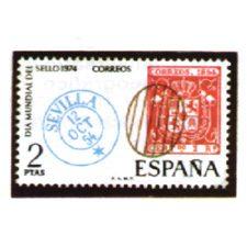 Sellos de España Año 1974