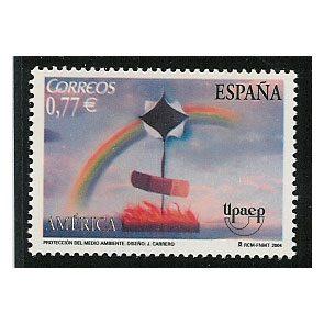 Sellos de España año 2004