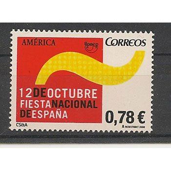 Sellos de España año 2008