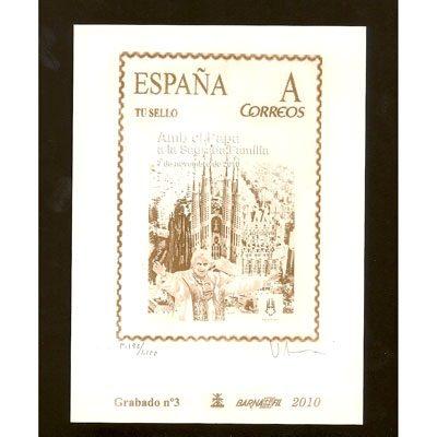 Grabados Filatélicos de sellos de España