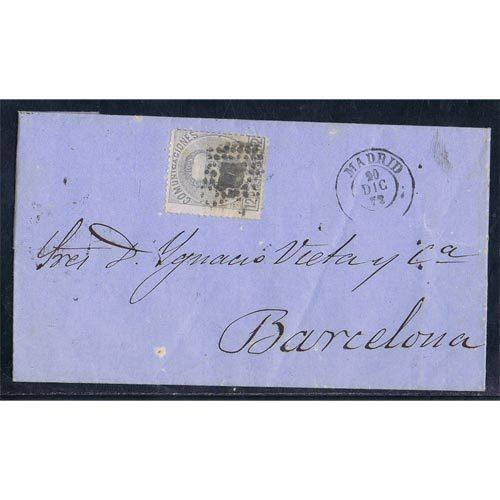 Historia Postal de España - Cartas con matasellos