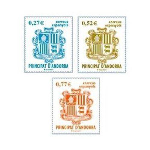 Sellos de Andorra Francesa por series completas