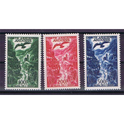 Sellos Andorra Francesa 1955/8