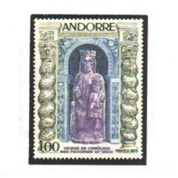Sellos Andorra Francesa 1973