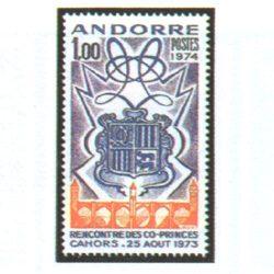 Sellos Andorra Francesa 1974